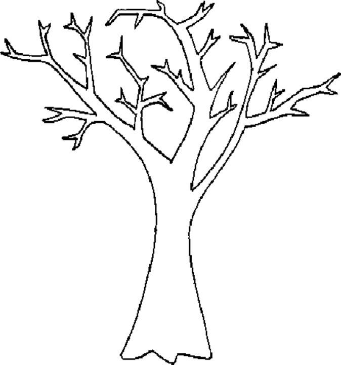 Imagini Desenate Copaci Frunze