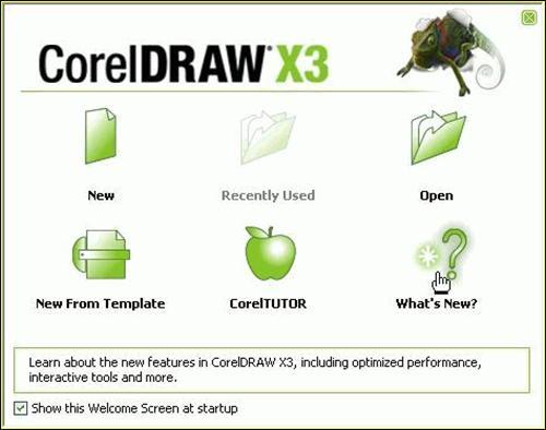 CorelDraw X3 Ru.