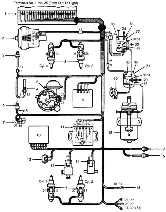 1984 mazda b2000 wiring diagram  1984  free engine image