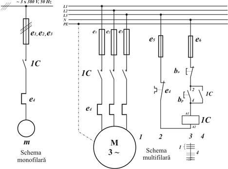 Pornirea automata a motorului asincron trifazat cu rotor in scurtcircuit